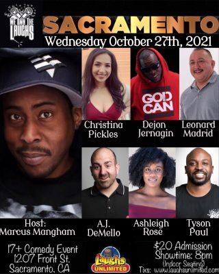 We Own the Laughs hosted by Marcus Mangham