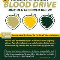 Sacramento State Blood Drive Community Event