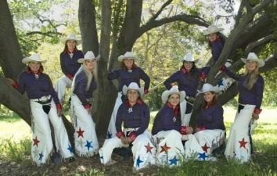 Painted Ladies Rodeo Performers
