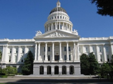 California State Capitol - North Steps |